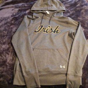 Women's Under Armour Cold Gear Notre Dame Top